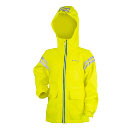Cozy rain jacket front