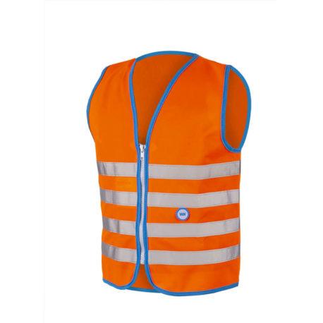 Fun Jacket Orange Front kopiëren