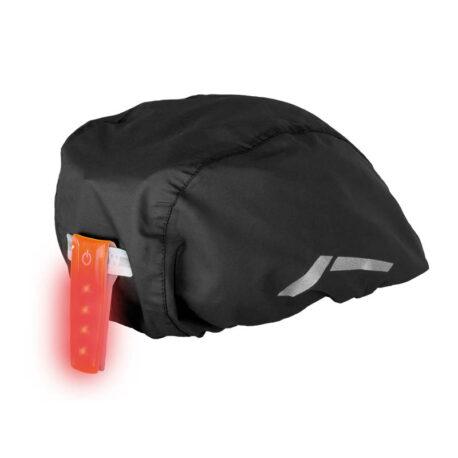 Helmet Cover Black Back with Multilight
